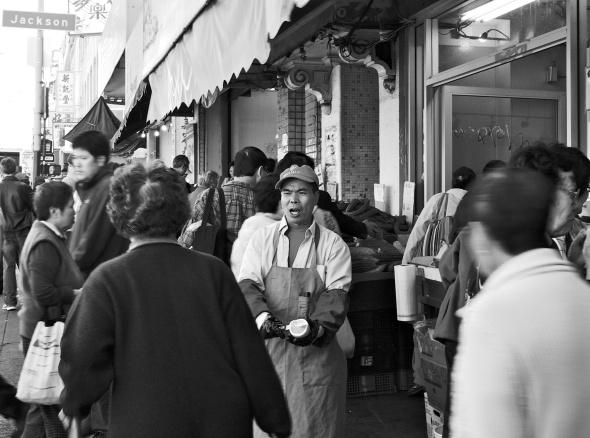 Fruit Vendor, Chinatown