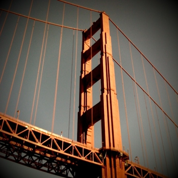 Golden Gate Bridge taken with my iPhone