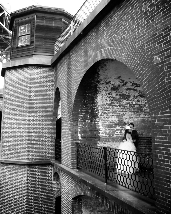 Bride and Groom, Fort Point