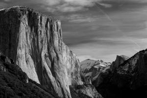 El Capitan, Half Dome and Cloud's Rest